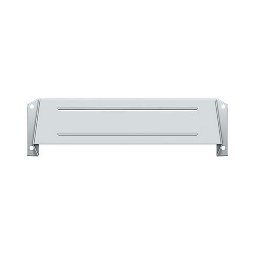 Deltana MSH158U26 Letter Box Hood, Bright Chrome Finish