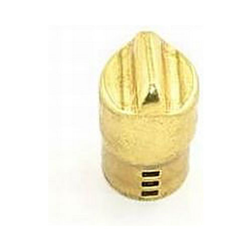 Schlage Commercial N523001605 ND Series Push and Turn Button Bright Brass Finish