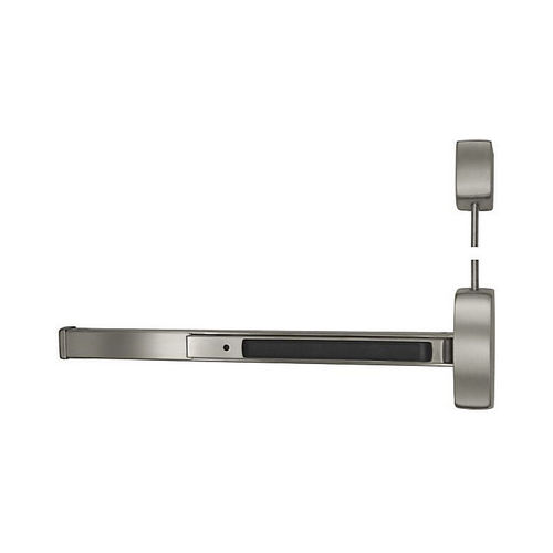Sargent NB8715FLESSTRIM32DRHR7 Extra Heavy Duty 7' Surface Vertical Rod Exit Device Less 15 Trim Right Hand Reverse for 33
