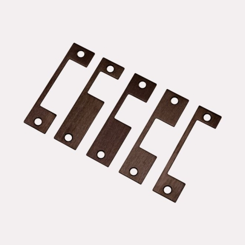 Locknetics MSFPKITUS10B 5 Piece Extra Faceplate Kit Oil Rubbed Bronze Finish