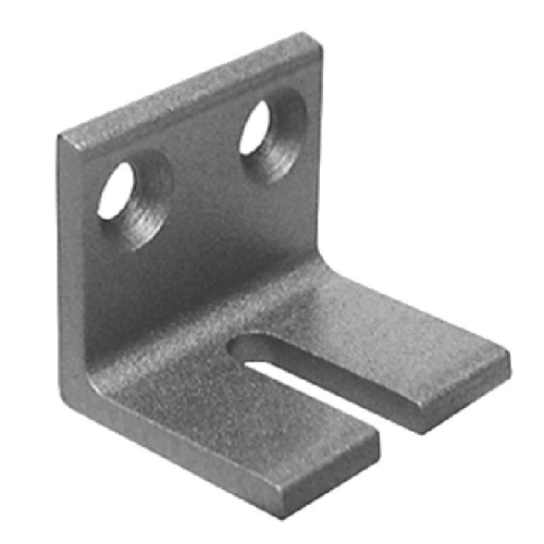 Stanley Closer P45HD112689 Angle Bracket for Heavy Duty Arms Aluminum Finish