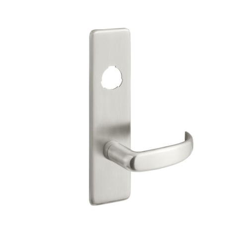 Yale PB426F630 Pacific Beach Lever Escutcheon Cylinder Classroom / Storeroom Exit Device Trim Satin Stainless Steel Finish