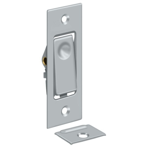 Deltana PDB42U26D Pocket Door Bolts, Jamb bolt, Satin Chrome Finish