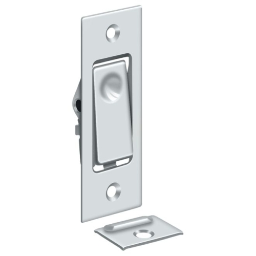 Deltana PDB42U26 Pocket Door Bolt, Jamb bolt, Polished Chrome