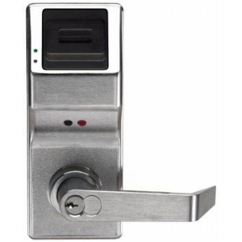 Alarm Lock PL3000IC26D Proximity Digital Lock with Interchangeable Core Satin Chrome Finish