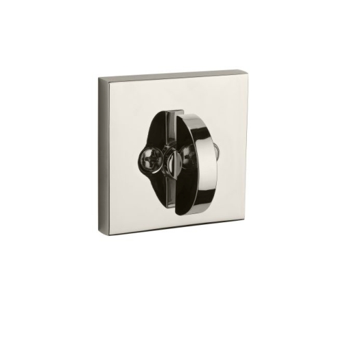 Baldwin PTCSD260 Patio Contemporary Square Deadbolt with 6AL Latch and Dual Strike Bright Chrome Finish