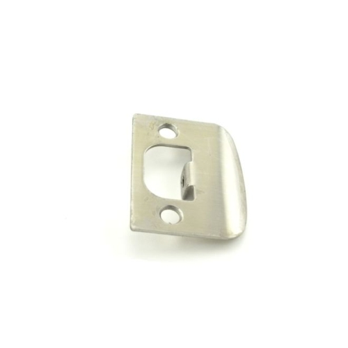 Falcon Lock Q001049626 Square Full Lip Strike Satin Chrome Finish