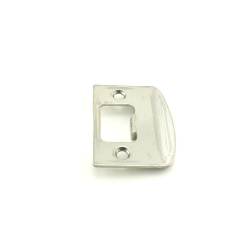 Falcon Lock Q330151626 Square Full Lip Strike Satin Chrome Finish