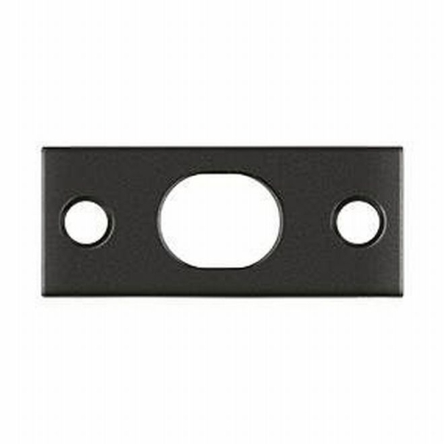Deltana SP12EFB10B Strike Plate For Extension Flush Bolt, Oil-rubbed Bronze
