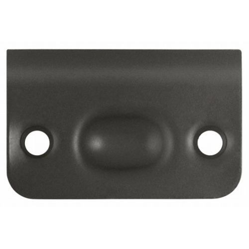 Deltana SPB349U10B Strike Plate for Ball Catch and Roller Catch, Oil Rubbed Bronze Finish