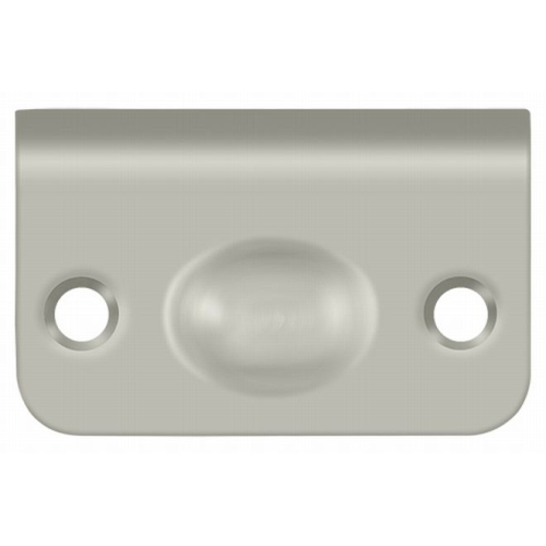Deltana SPB349U15 Strike Plate for Ball Catch and Roller Catch, Brushed Nickel