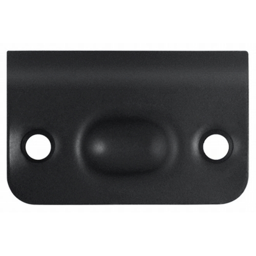 Deltana SPB349U19 Strike Plate for Ball Catch and Roller Catch, Paint Black