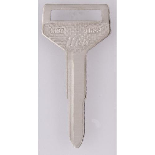 Dormakaba TR33NP Taylor Toyota TR33 Key Blank Nickel Plated Finish