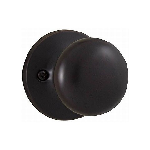 Weslock 00205S1-0020 Salem Half Dummy Lock Oil Rubbed Bronze Finish