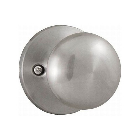 Weslock 00205SN-0020 Salem Half Dummy Lock Satin Nickel Finish