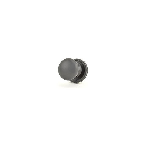 Weslock 00605I2-0020 Impresa Half Dummy Lock Black Finish
