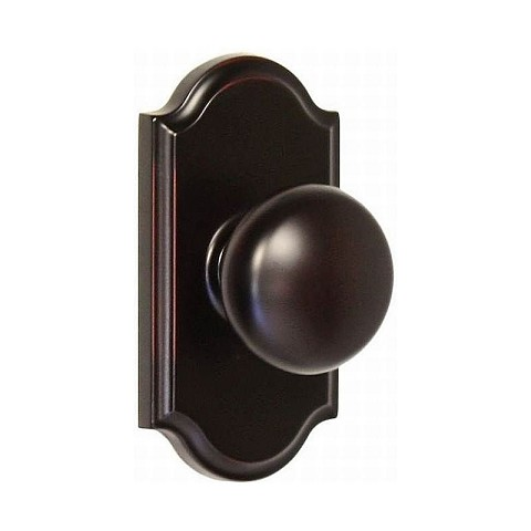 Weslock 01710I1I1SL20 Impresa Premiere Privacy Lock with Adjustable Latch and Full Lip Strike Oil Rubbed Bronze Finish