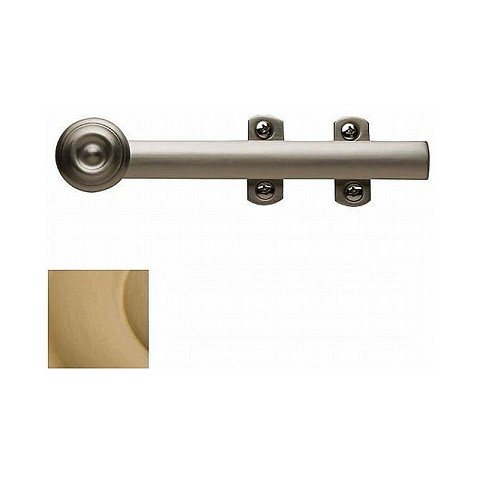 "Baldwin 0346033 6"" Decorative Surface Bolt Vintage Brass Finish"