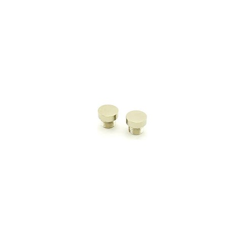 Baldwin 1035055ITIP Button Tip (2/SET) Lifetime Bright Nickel Finish