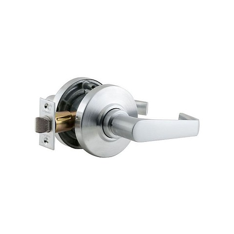 Schlage AL10SAT626 AL Series Passage Saturn with 11116 Latch 10025 Strike Satin Chrome Finish