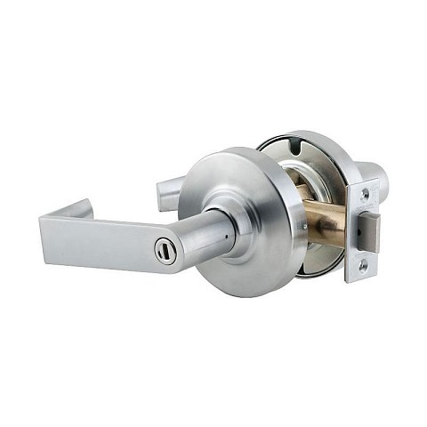 Schlage Commercial ND40RHO626 ND Series Privacy Rhodes with 13-048 Latch 10-025 Strike Satin Chrome Finish