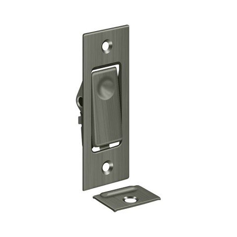 Deltana PDB42U15A Pocket Door Bolts, Jamb bolt, Antique Nickel Finish