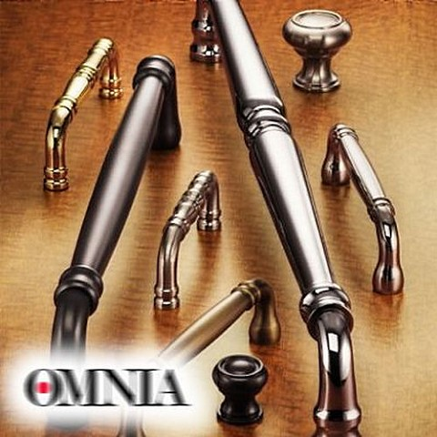 "Omnia 007/4 4"" Solid Spindle"