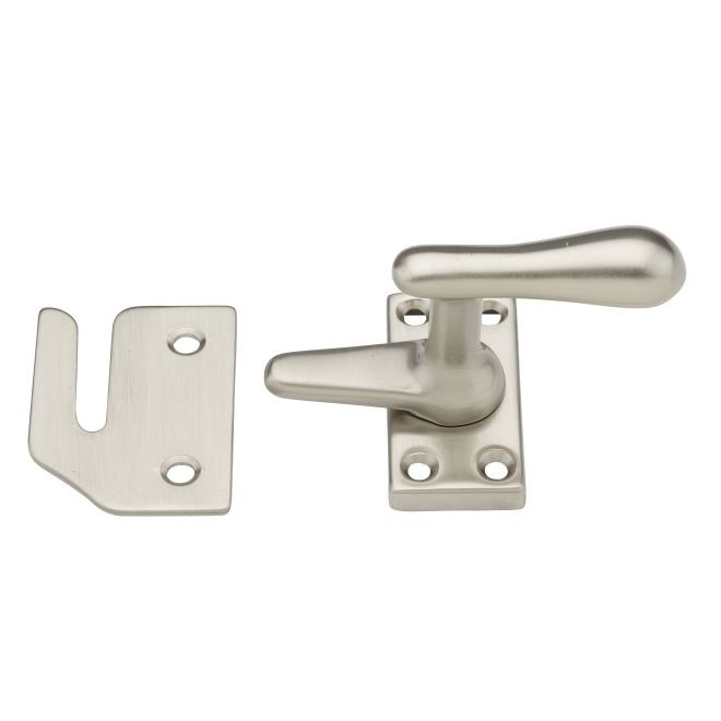 Baldwin 0495150 Casement Fastener With Rim Strike Satin Nickel Finish
