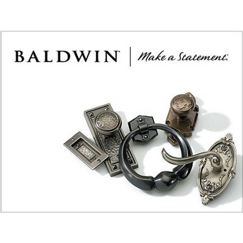 Baldwin 0105260 Tahoe Door Knocker Bright Chrome Finish